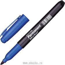 <b>Attache Маркер перманентный</b> синий, 3-5 мм в магазине Ukazka.ru