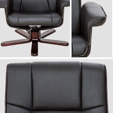 <b>TV armchair with</b> stool model 1 - leather armchair, lounge chair ...