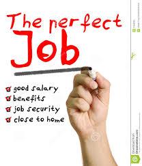 the perfect job stock photography image  the perfect job