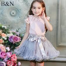 <b>Buenos Ninos Girls</b> Fluffy 2-18 Years Chiffon Pettiskirt Solid Colors t ...