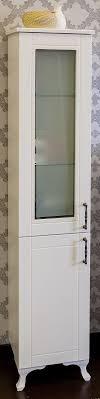<b>Пенал напольный белый матовый</b> L Sanflor Глория C000005722 ...