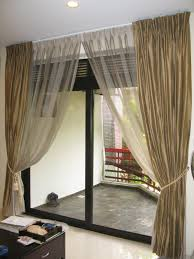large sliding patio doors: patio door curtains should be nice one e   luxury home decorations commonly people also