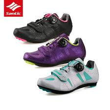 <b>Santic Women</b> Road <b>Cycling Shoes</b> Auto-locking <b>Bicycle Shoes</b> ...