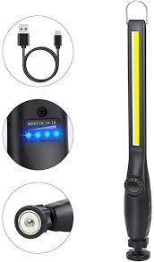 ORHOME <b>LED Work Light</b> - 750 Lumens Rechargeable COB Work ...