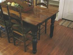 Farm Style Dining Room Tables Rustic Dining Room Table With Bench Dining Room Sets With Fabric