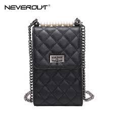 <b>NEVEROUT</b> 3 Color Women's Soft <b>Genuine Leather</b> Phone/Mini ...