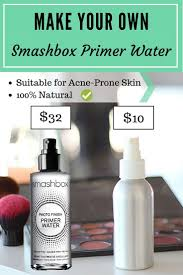 diy smashbox primer water makeup setting spray