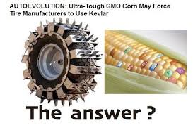 Kevlar Tires For GM Crop Damage