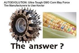 Kevlar Tires For GM Crop Damage