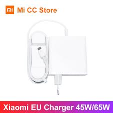 <b>Xiaomi 65W Charger Type</b> C Output EU Laptop Charger QC 4.0 ...