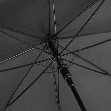 <b>Зонт</b>-трость Rain Berry черный текстиль, артикул 741-1212-<b>4</b>-BLK