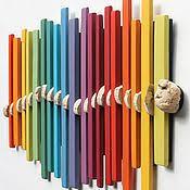 <b>Панно</b>: <b>Декоративное панно</b> из цветных реек   Искусство ...
