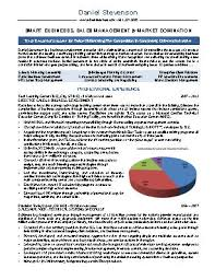 executive resume samples best resumes of new york  ny resume services
