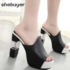2017 Summer <b>Women</b> Elegant Sexy High Heel <b>Sandals</b> Peep Toe ...