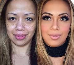 Image result for before and after makeup
