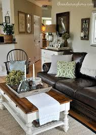 the endearing home family room leather neutral black white black white living room furniture