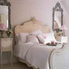 18 stylish shabby chic bedroom design ideas lovely white shabby chic bedroom with bedroom furniture bedside cabinets mirror antique