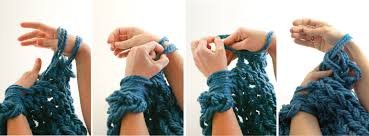 Image result for arm knitting