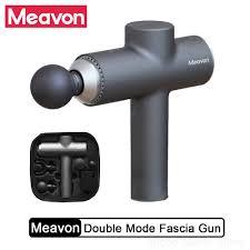 <b>Meavon</b> Smart Double Mode Fascia <b>Gun</b> Muscle Vibration Relaxer ...