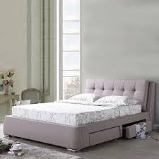 stanhope upholstered storage bed king bed size mist brown bed furniture designs