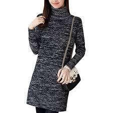 YOUJIAA Womens Warm <b>Long Knitted</b> Jumper Spring <b>Autumn</b> ...