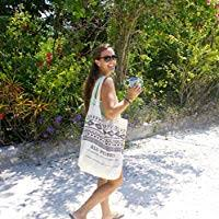 Beautiful Blue Sea Glass Bar Necklace-With FREE ... - Amazon.com