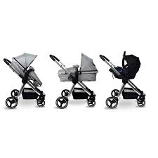 Babylo <b>Panorama</b> Travel System & <b>Car</b> Seat Grey - Smyths Toys