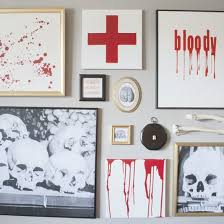 halloween gallery wall decor hallowen walljpg  diy halloween gallery wall   diy halloween gallery wall