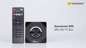 <b>Gocomma</b> X99 Mini 6K <b>TV</b> Box Android 9.0 OS - Gearbest.com ...