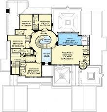Luxury Spanish Colonial House Plan   KA   st Floor Master    Reverse Floor Plan Pinit white