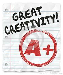 Great Creativity and A Plus grade on a writing assignment  report or paper for school or class  full of original and inventive ideas