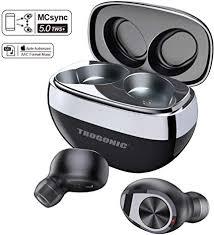 Trogonic TE1 Wireless Earbuds <b>Bluetooth</b> 5.0, <b>IPX5 Waterproof</b> ...