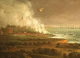 "「""The Defence of Fort McHenry,""」の画像検索結果"
