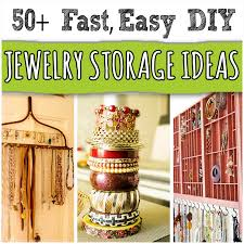 50+ <b>Creative DIY Jewelry</b> Organizers