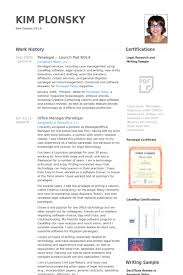 paralegal resume samples   visualcv resume samples databaseparalegal   launch pad nola resume samples
