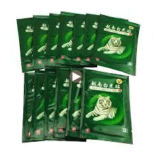 <b>104 Pcs/13bags Vietnam</b> White Tiger Balm Patch Cream Body ...