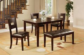 Upholstered Dining Room Bench With Back Dining Room Bench Dining Table With Bench Room Tables With