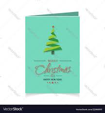 <b>Merry christmas creative design</b> with christmas Vector Image