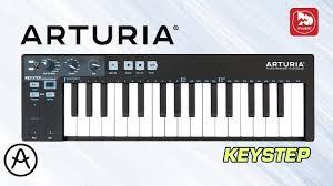 <b>Arturia Keystep</b> - мини <b>MIDI клавиатура</b> 32 клавиши - YouTube
