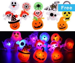 Wish - Light up your #<b>Halloween</b> with these <b>cute LED</b> rings ...