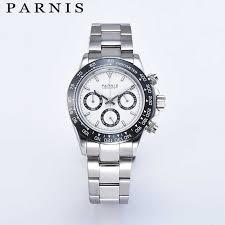 <b>Parnis</b> Drive Watches Men Quartz Pilot Chronograph Top Brand ...