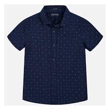 <b>Рубашка MAYORAL</b> 6142/16 для мальчика, цвет синий, возраст ...