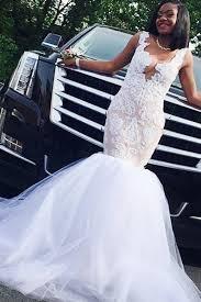 Mermaid <b>Wedding</b> Dress - Deep V-Neck Court Train <b>Champagne</b> ...