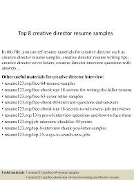 topcreativedirectorresumesamples conversion gate thumbnail jpg cb