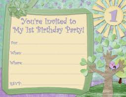 first birthday party invitations templates birthday birthday party invitation templates word