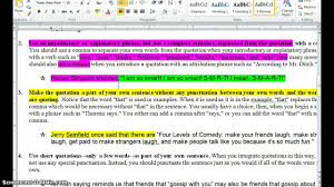 integrating quotations into sentences integrating quotations into sentences