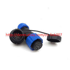 SD16 <b>5pin</b> Waterproof Power <b>Connectors</b>, Reverse Electrical LED ...