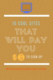 best images about work at home job leads get 5 in cash and more when you join these cool sites to do various things jobssites