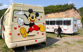 Inside China's <b>Cartoon</b>-Themed <b>Bus</b> Hotels | Travel + Leisure