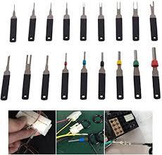 Volwco <b>18 Pcs Terminal Removal Tool Kit</b> Wiring <b>Connector Pin</b> ...